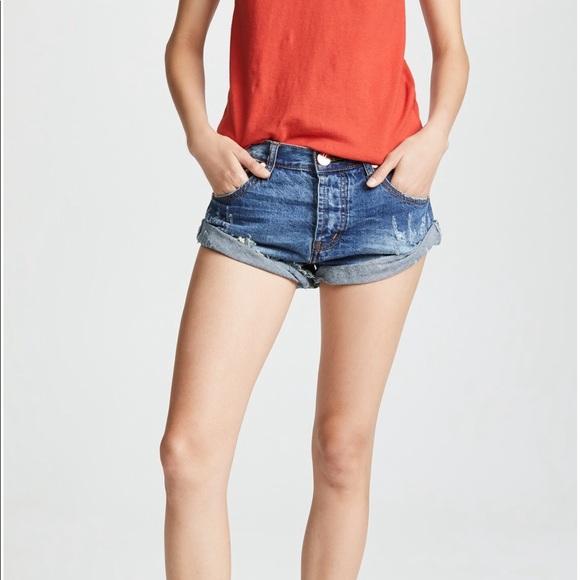 One Teaspoon Pants - ONE TEASPOON - Bandit Pacifica shorts, 28
